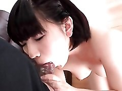 Bejeweled butt plug up the ass of a Japanese girl