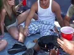 Legal age teenager sex in the midst of booze