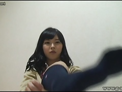 WEBCAM Yurina is change into uniform miniskirt