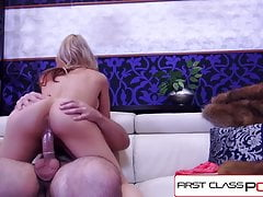 FirstClassPOV - Sarah Vandella is punished by a big dick