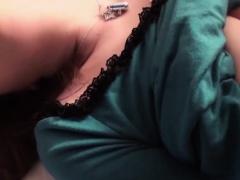 Subtitles - Japanese girl Haruka Ohsawa gets a big cock