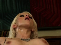 After getting caught Stacy Silver gets pounded hard