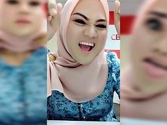 hot malaysian hijab - bigo live #37