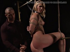 pussyfucked eurobabe doggystyled by maledom