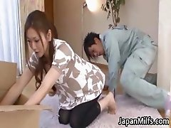 Emi Harukaze Asian beauty is a horny part4