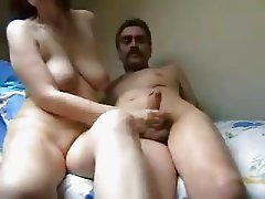jerking him off