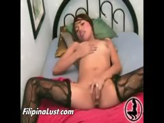 Filipina Teen Lingerie Masturbation