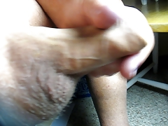 67 yr old Grandpa close cum #89 cumshot upclose closeup