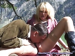 german moms anal in the mountains