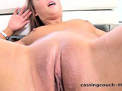 Castingcouch-HD.com - Nervous Sally Casting Call
