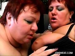 Pussy Licking Mature BBWs
